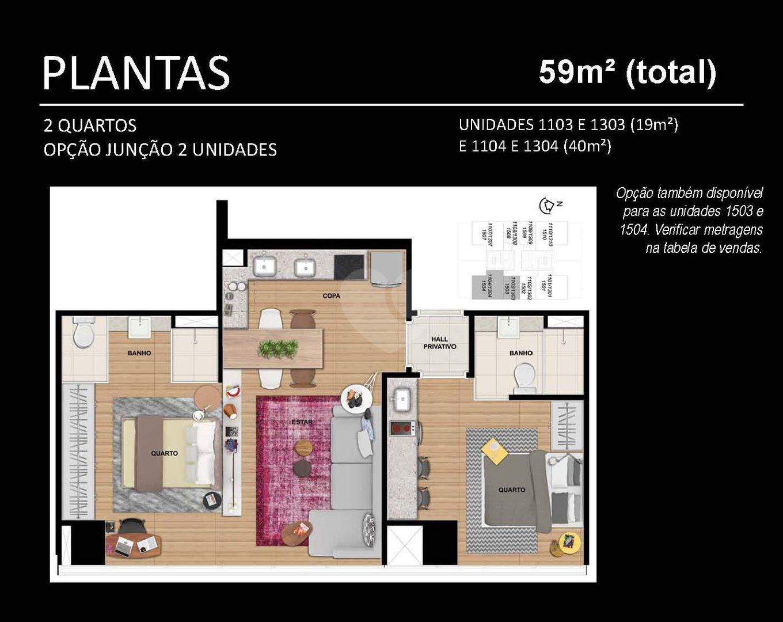Apartamento 18m²