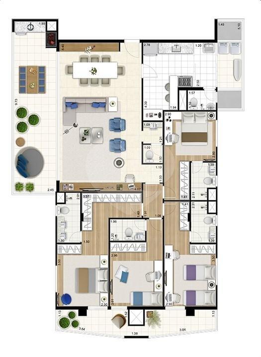 Apartamento 181m²