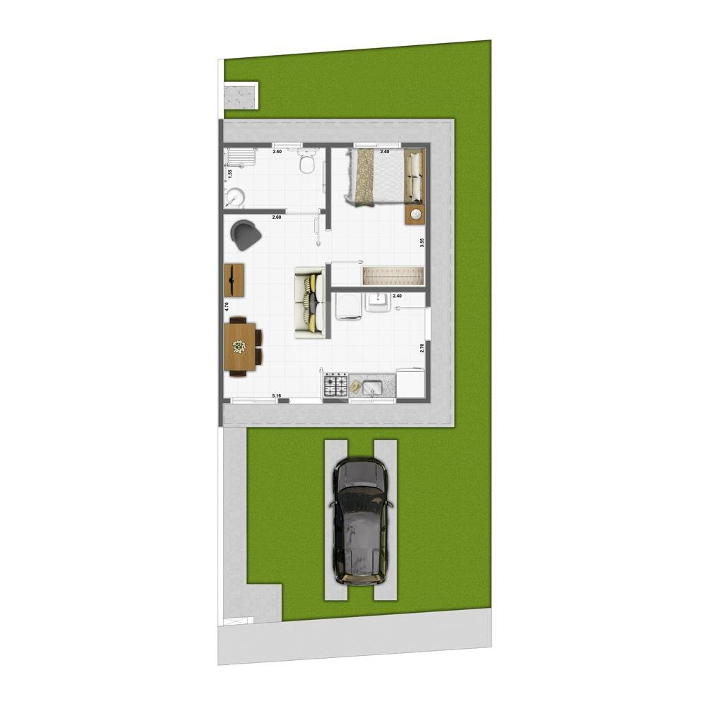 Casa 43m²