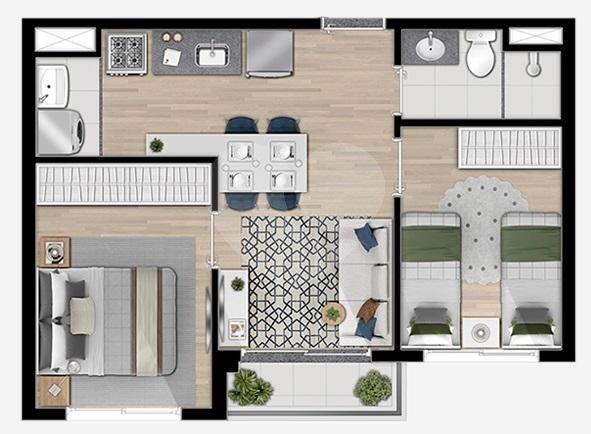Apartamento 38m²