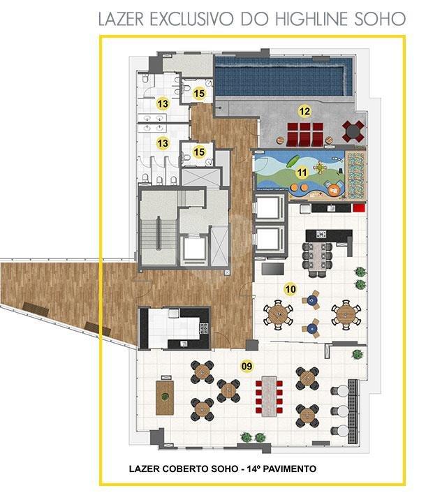 Highline Square - Soho Vitória Enseada Do Suá REM15334 26