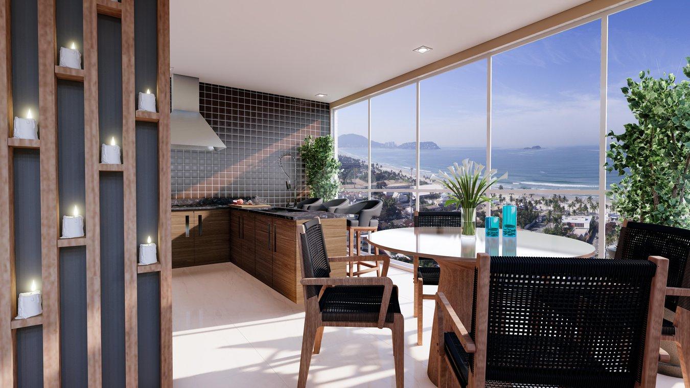 Coral Residence Santos Boqueirão REM17238 12