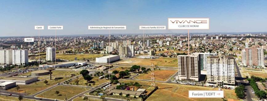 Vivance Clube De Morar Brasília Samambaia Sul (samambaia) REM17943 21