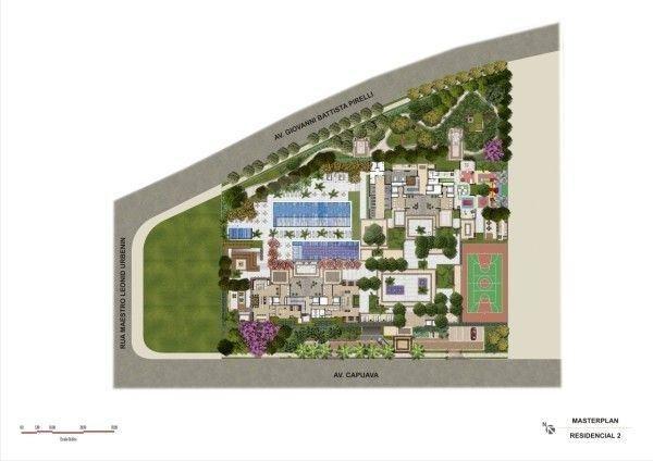 Brookfield Century Plaza - Residence Santo André Vila Homero Thon REM58 27