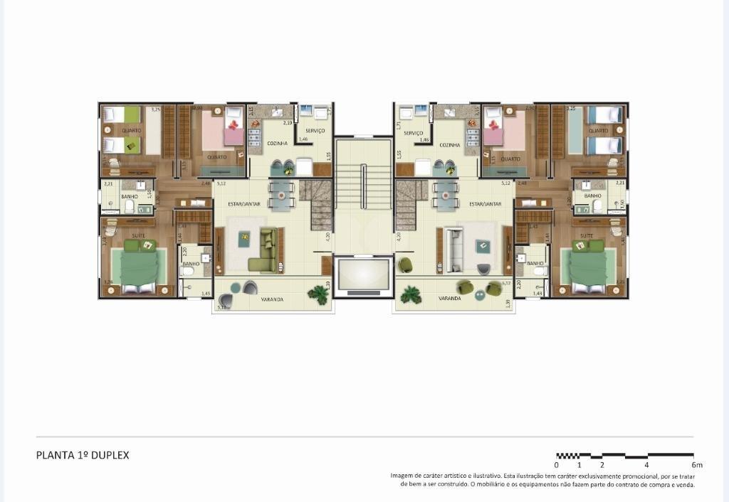 Venda Apartamento Belo Horizonte Castelo REO128004 15