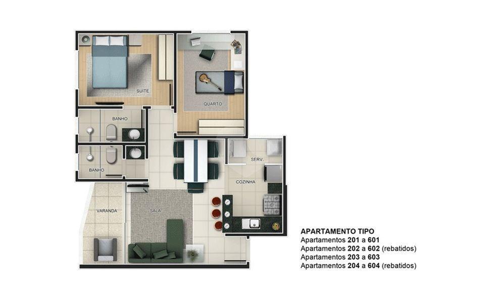 Venda Apartamento Belo Horizonte Ouro Preto REO247630 14