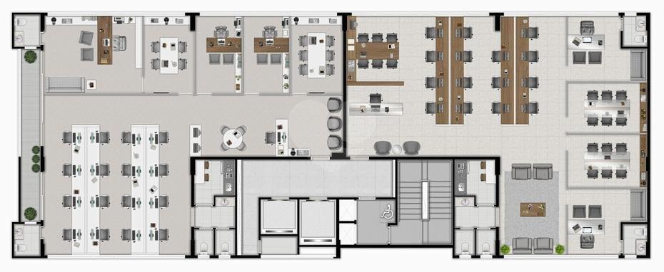 Venda Salas Curitiba Juvevê REO265750 2