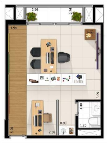 Venda Salas São Paulo Pinheiros REO28067 3