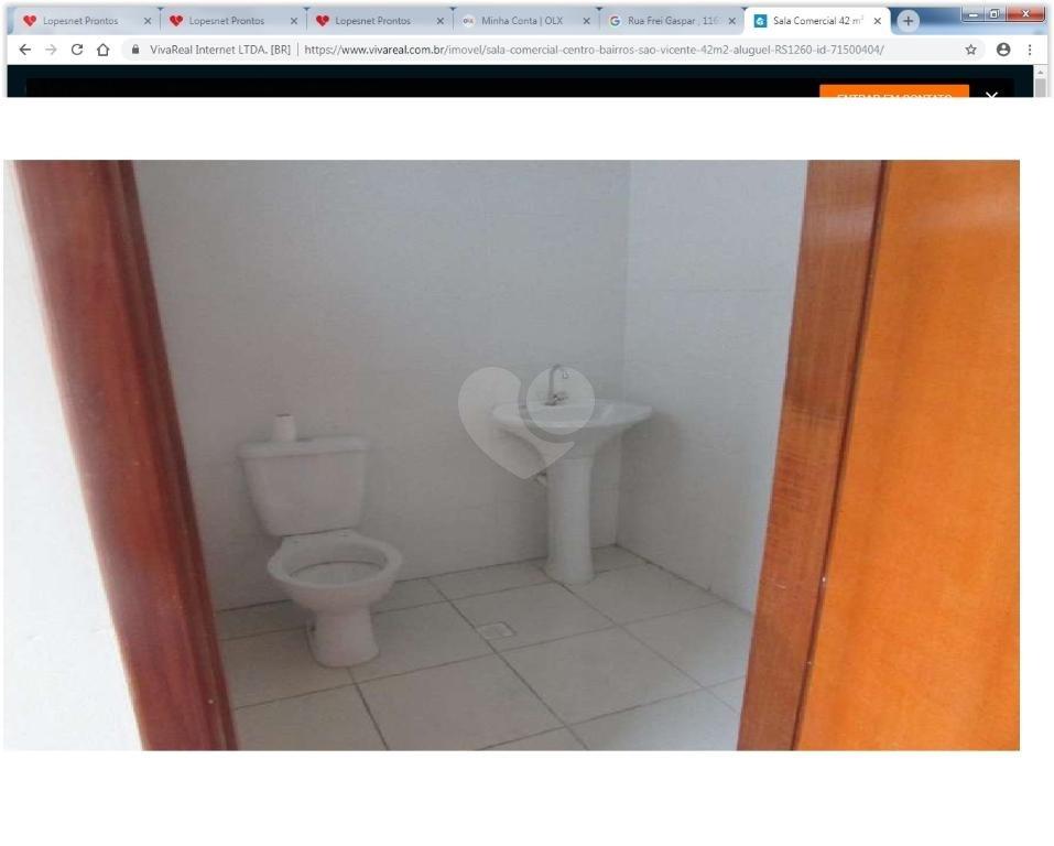 Aluguel Salas São Vicente Centro REO288472 14
