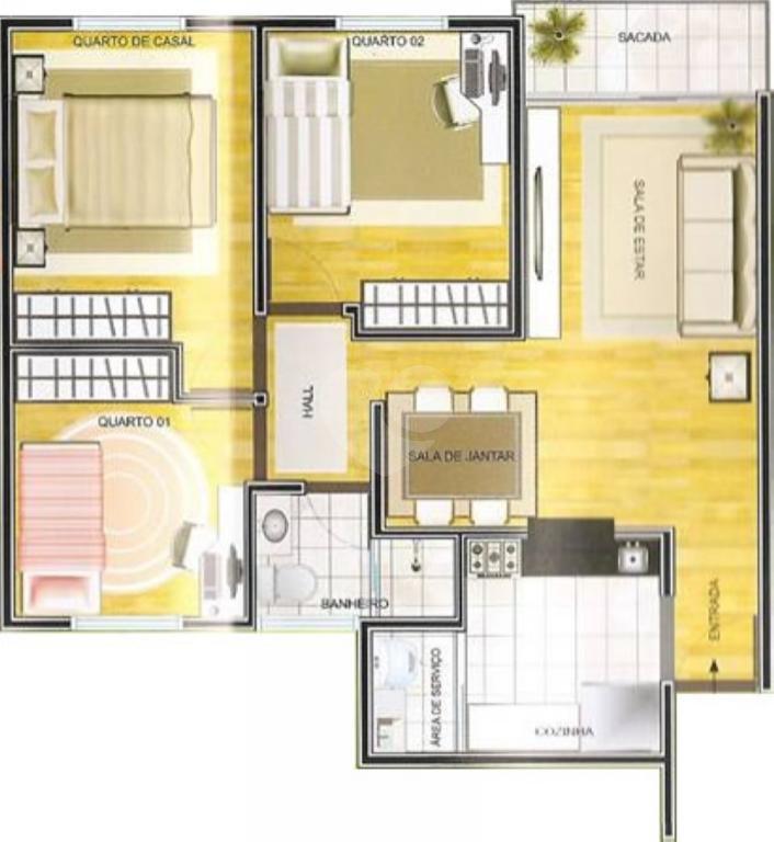 Venda Apartamento Campinas Recanto Do Sol I REO299886 2