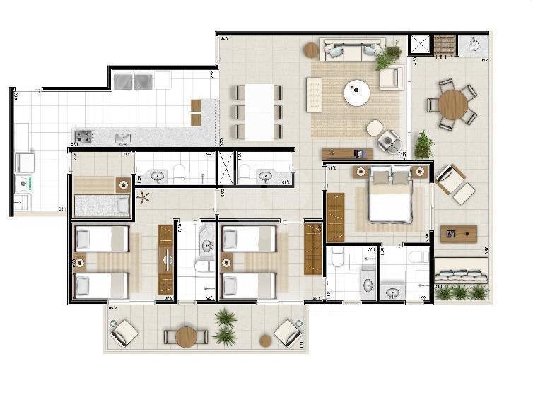 Venda Apartamento Guarujá Enseada REO308705 36
