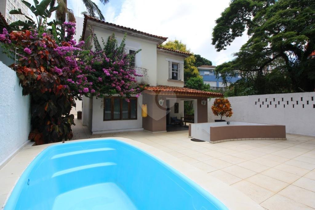 Venda Casa São Paulo Pacaembu REO309685 27