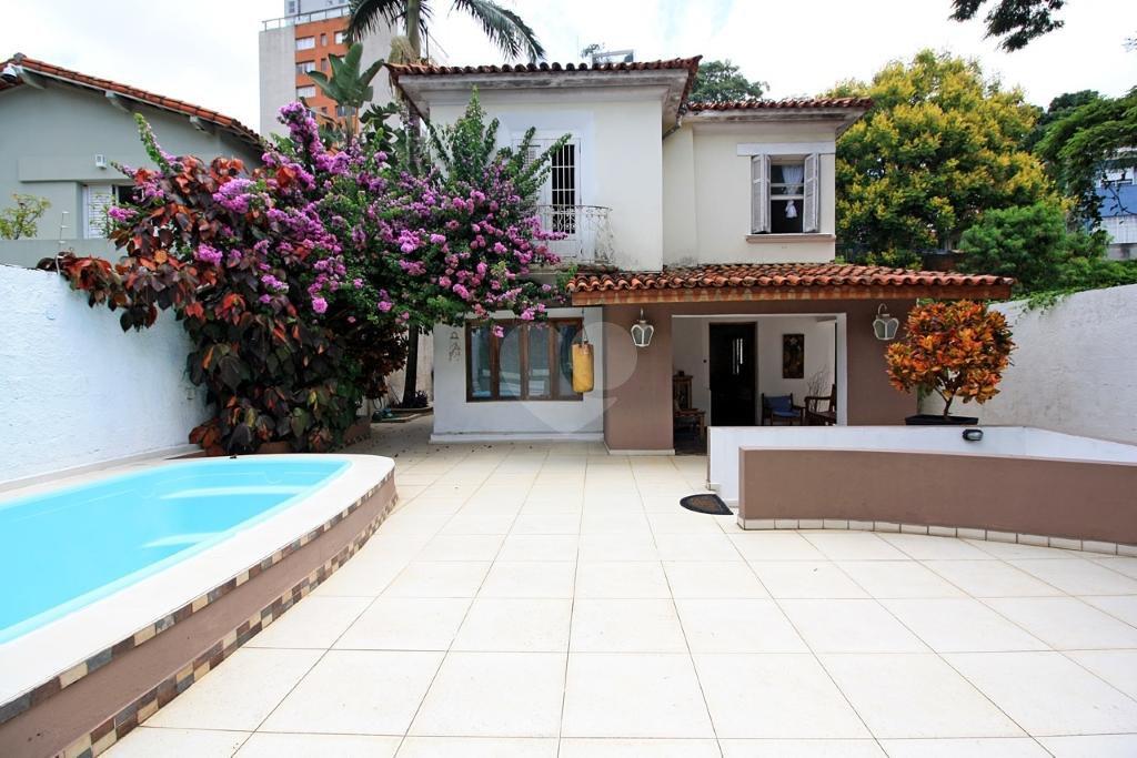 Venda Casa São Paulo Pacaembu REO309685 2