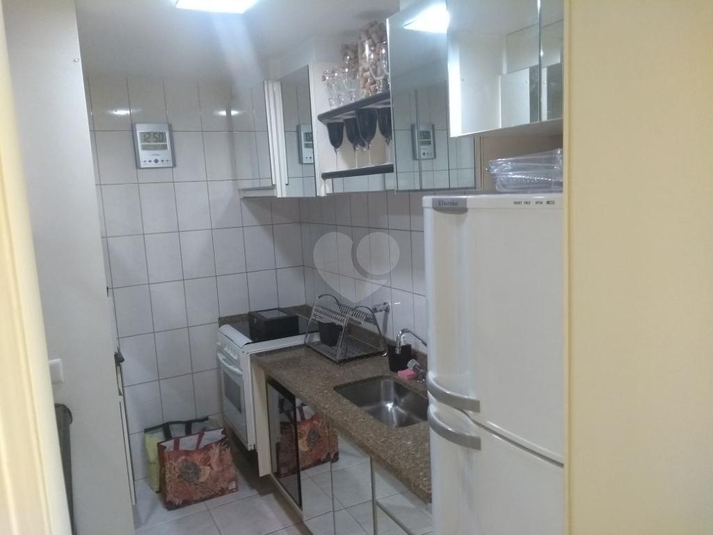 Venda Flat Santos Gonzaga REO314136 16