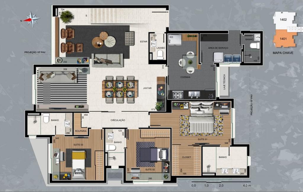 Venda Apartamento Belo Horizonte Sion REO319331 19