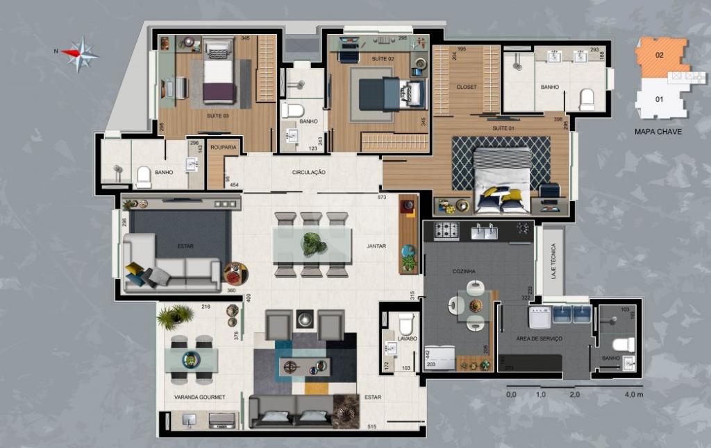 Venda Apartamento Belo Horizonte Sion REO319331 18
