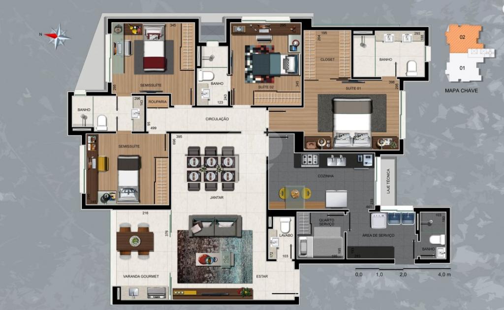 Venda Apartamento Belo Horizonte Sion REO319331 16