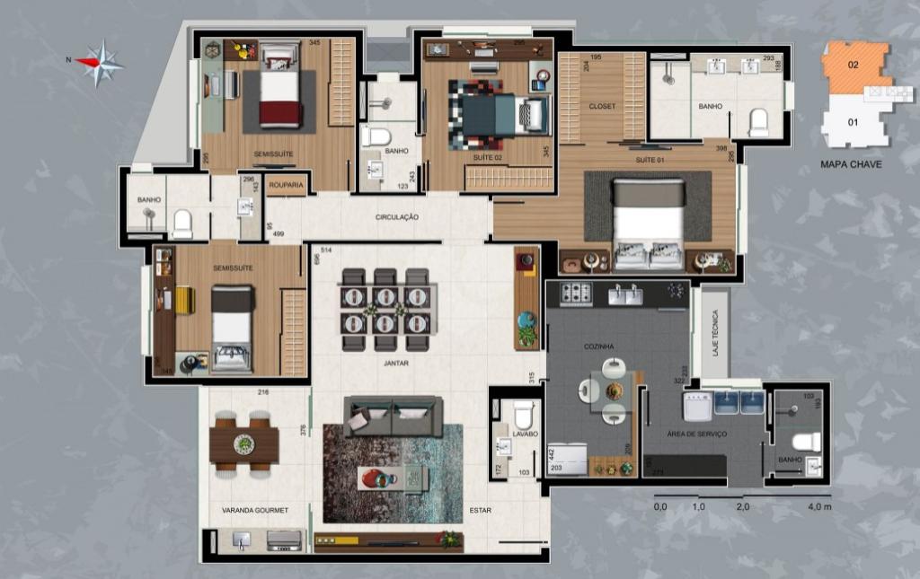 Venda Apartamento Belo Horizonte Sion REO319358 13
