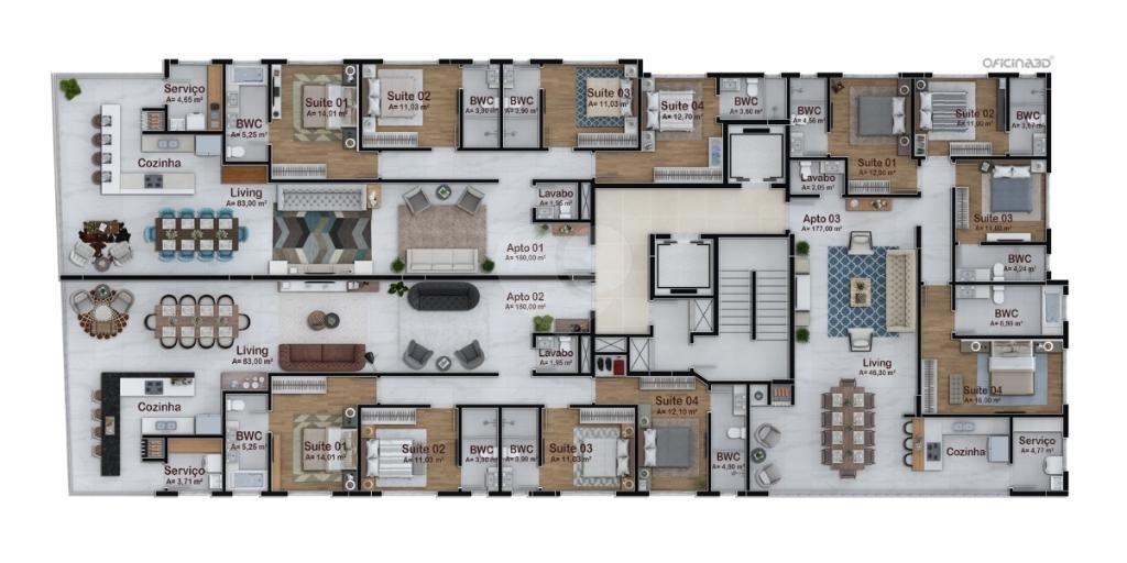 Venda Apartamento Itapema Meia Praia REO334554 8
