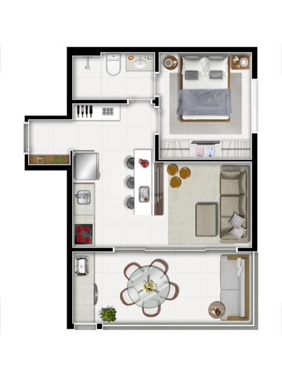 Venda Apartamento São Paulo Sumarezinho REO344373 19