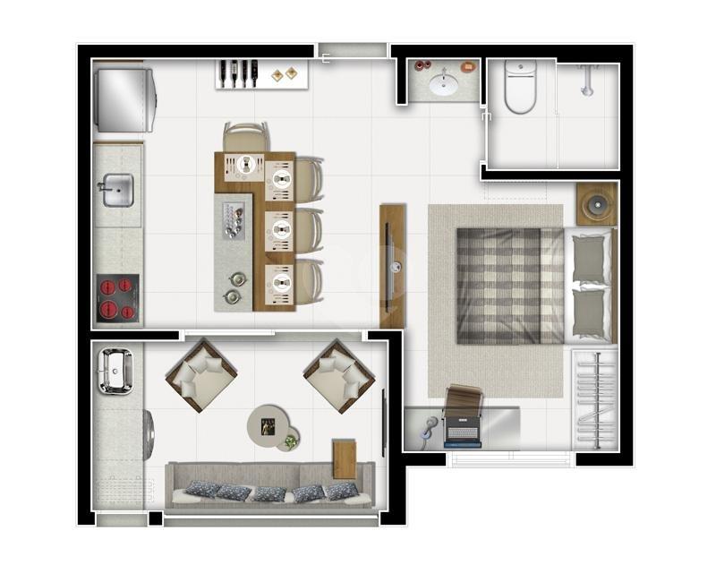 Venda Apartamento São Paulo Sumarezinho REO344373 17