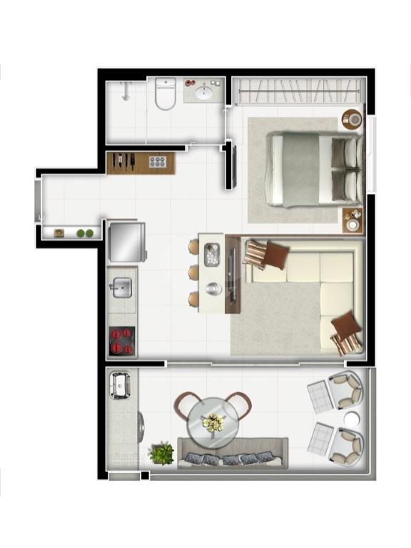 Venda Apartamento São Paulo Sumarezinho REO344373 15
