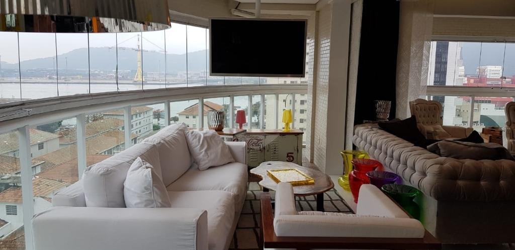 Venda Apartamento Santos Ponta Da Praia REO344974 11