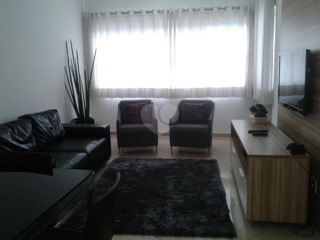 Venda Flat Santos Gonzaga REO349069 2