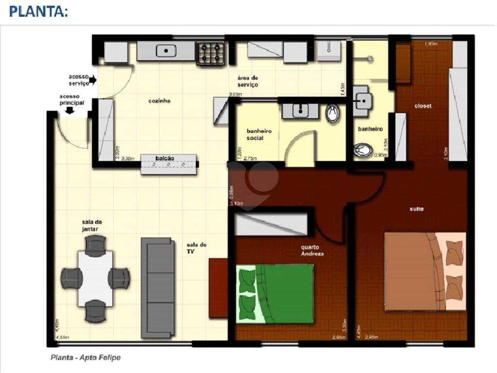 Venda Apartamento São Paulo Pinheiros REO367543 20