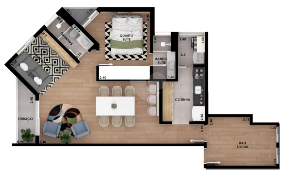 Venda Apartamento São Paulo Pinheiros REO375178 42