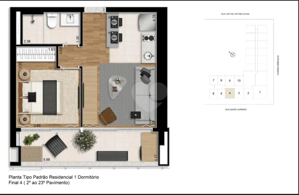 Venda Apartamento São Paulo Pinheiros REO375875 21