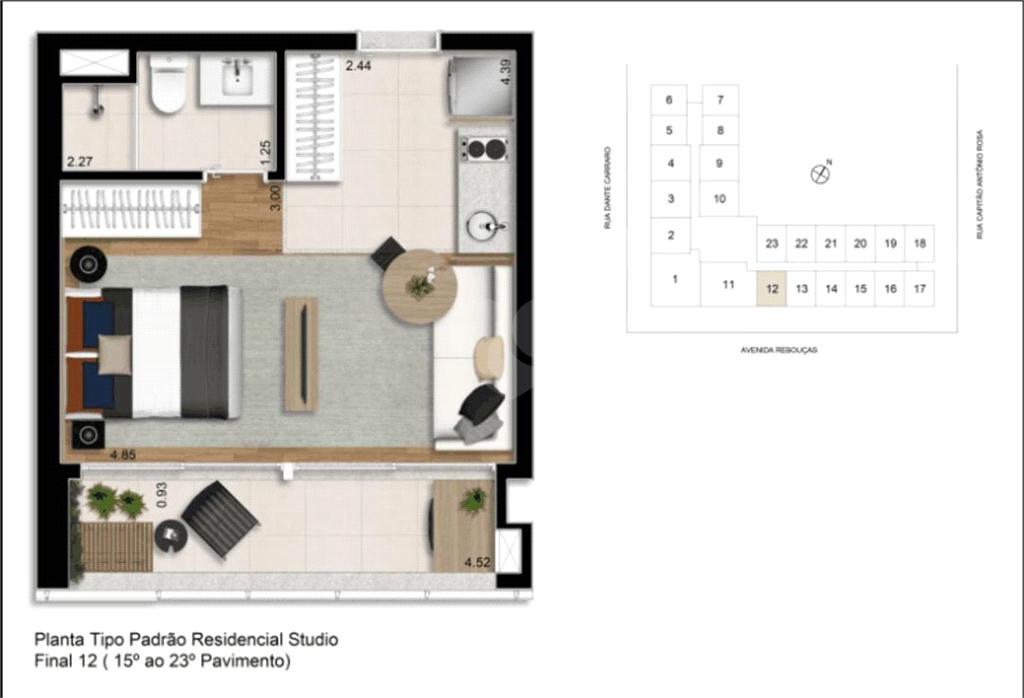 Venda Apartamento São Paulo Pinheiros REO375892 25
