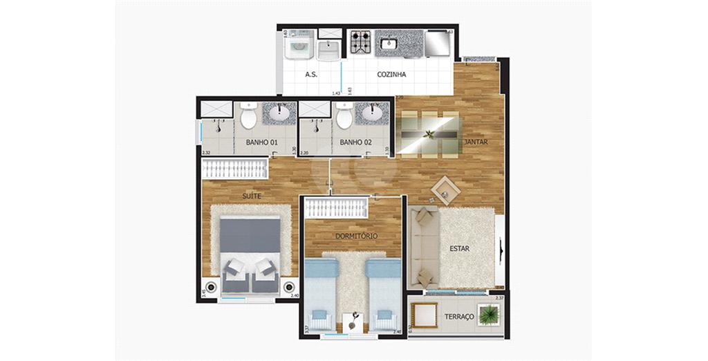 Venda Apartamento São Paulo Pirituba REO459934 2