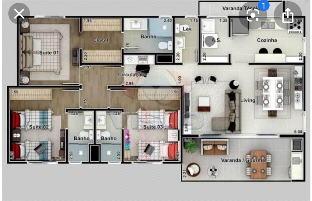 Venda Apartamento Indaiatuba Cidade Nova I REO477550 25