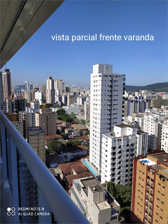 Venda Apartamento Santos Boqueirão REO486338 50