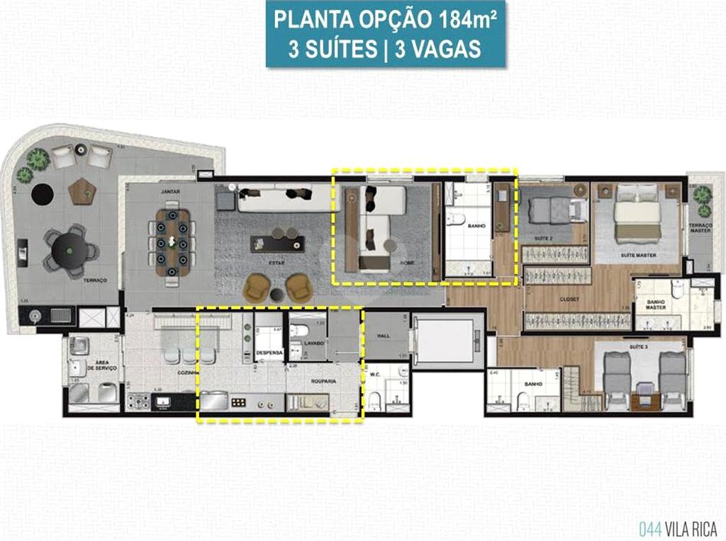 Venda Apartamento Santos Boqueirão REO486338 9