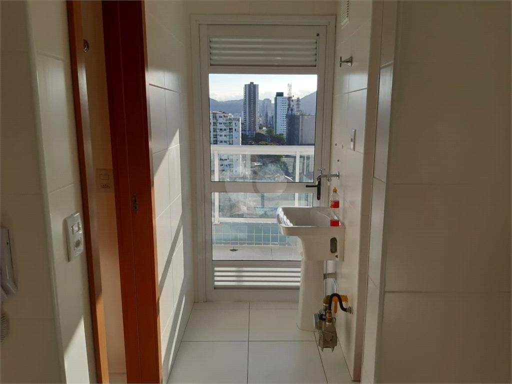Venda Apartamento Santos Boqueirão REO489406 38