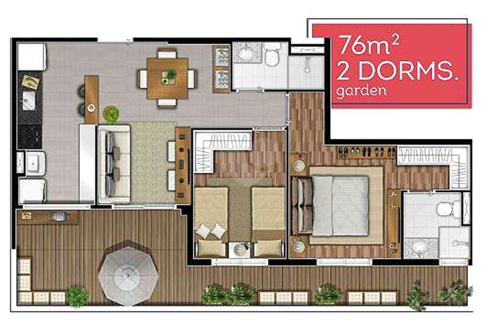 Venda Apartamento Barueri Parque Viana REO521790 2