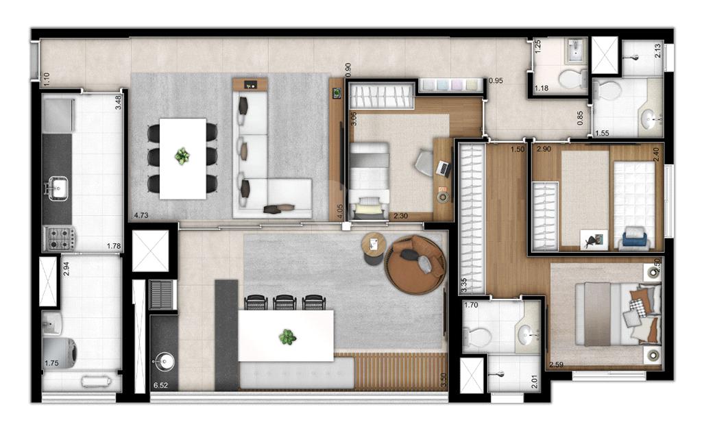 Venda Apartamento São Paulo Sumarezinho REO526496 12