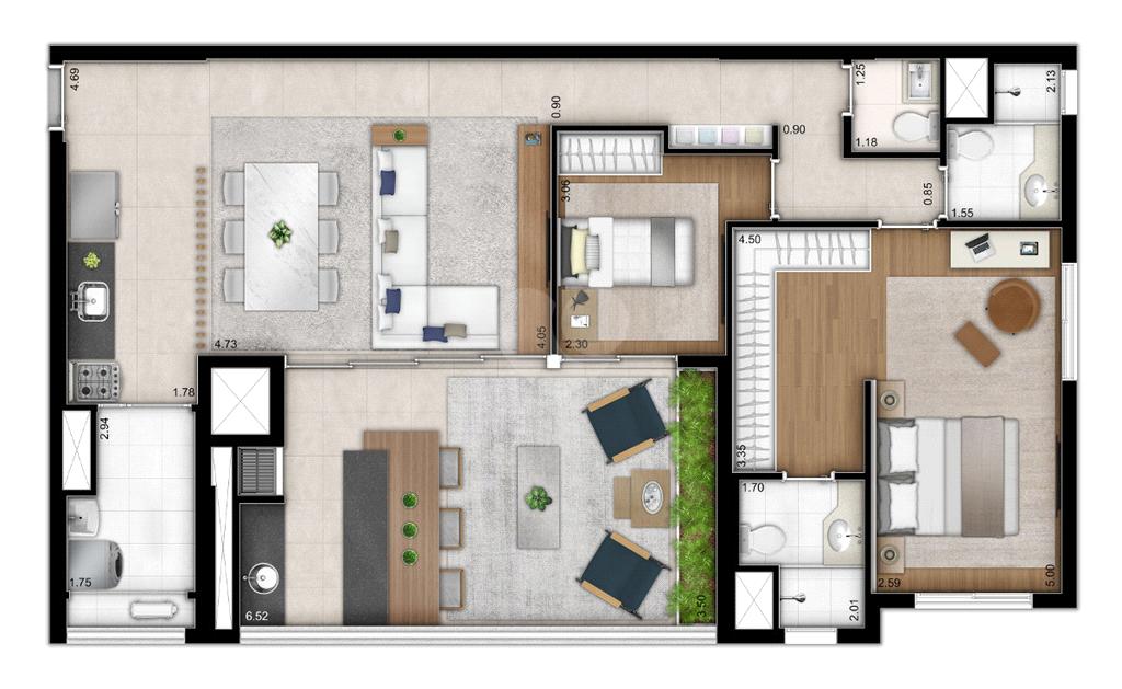 Venda Apartamento São Paulo Sumarezinho REO526502 4