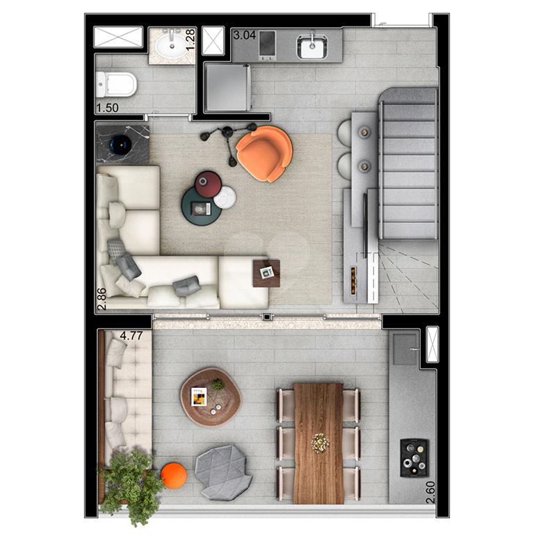 Venda Apartamento São Paulo Pinheiros REO528415 36