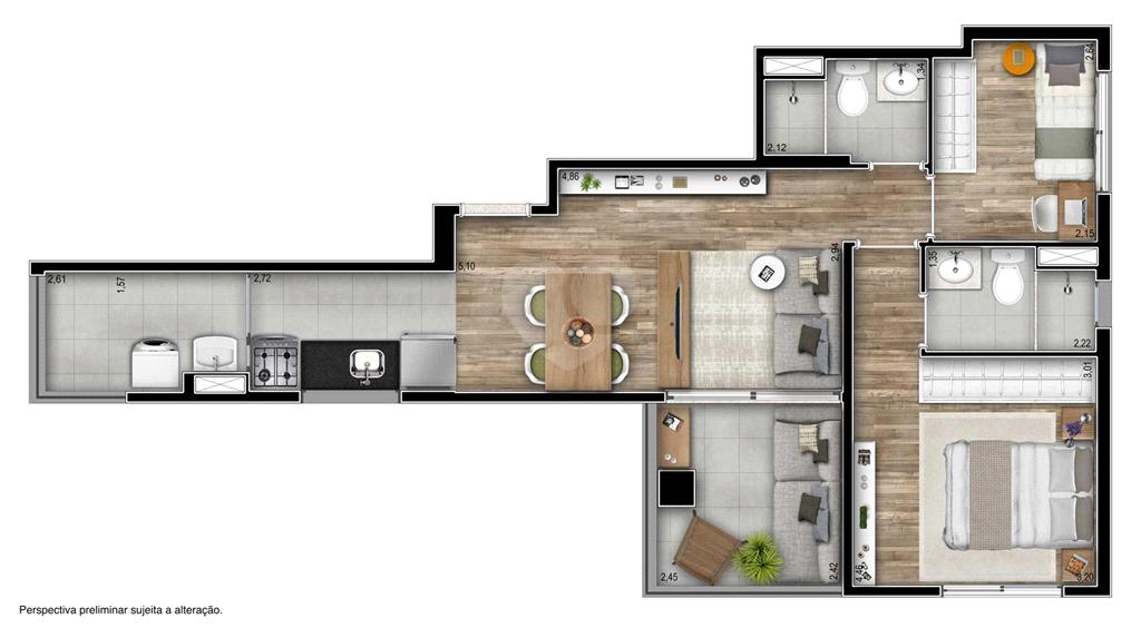Venda Apartamento São Paulo Pinheiros REO551047 45