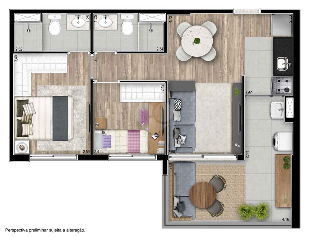 Venda Apartamento São Paulo Pinheiros REO551058 44