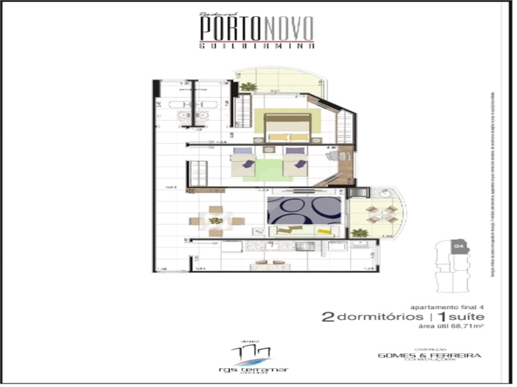 Venda Studio São Vicente Centro REO551766 21