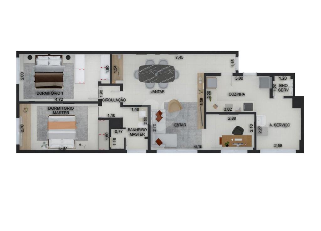 Venda Apartamento São Paulo Pinheiros REO568127 19