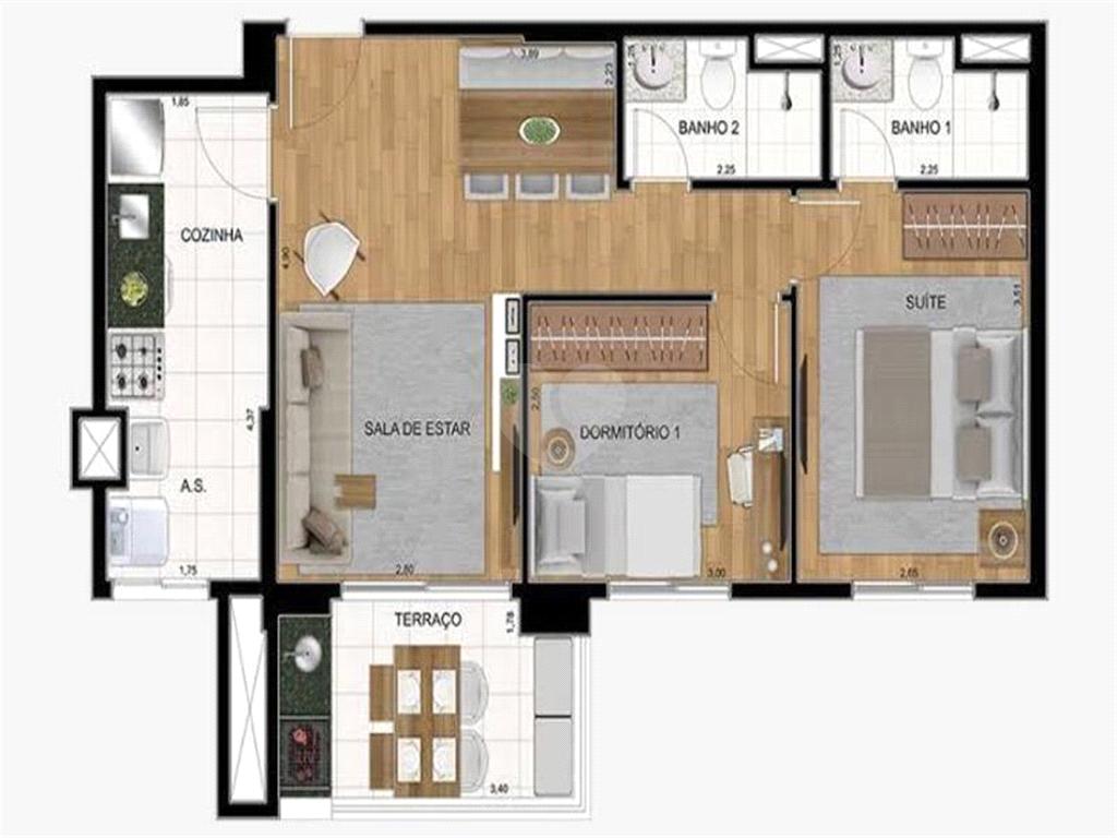 Venda Apartamento Santos Campo Grande REO570954 26