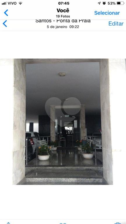 Aluguel Apartamento Santos Ponta Da Praia REO575162 2