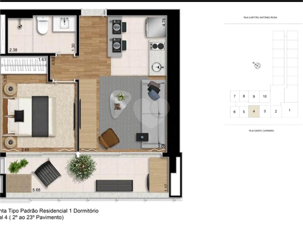 Venda Apartamento São Paulo Pinheiros REO579458 10