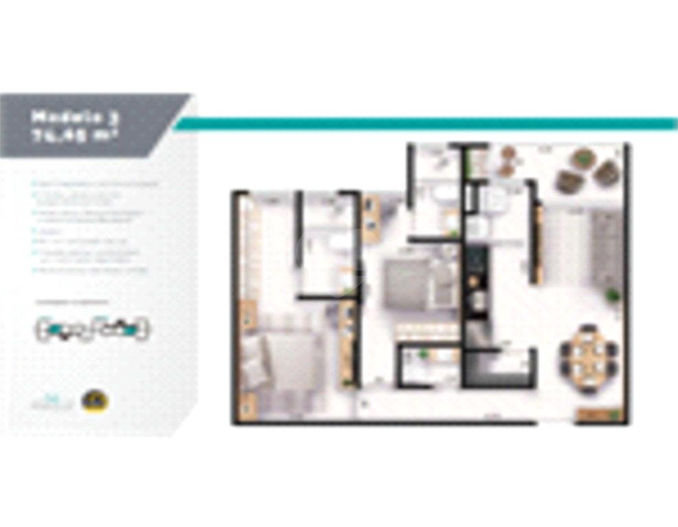 Venda Apartamento Indaiatuba Chácara Belvedere REO585910 12