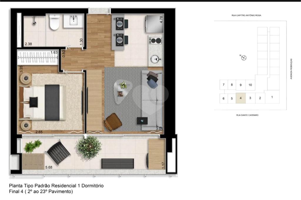 Venda Apartamento São Paulo Pinheiros REO589369 19